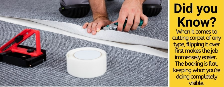 Best tools & ways for carpet cutting