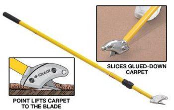 Stand-Up Carpet Cutter
