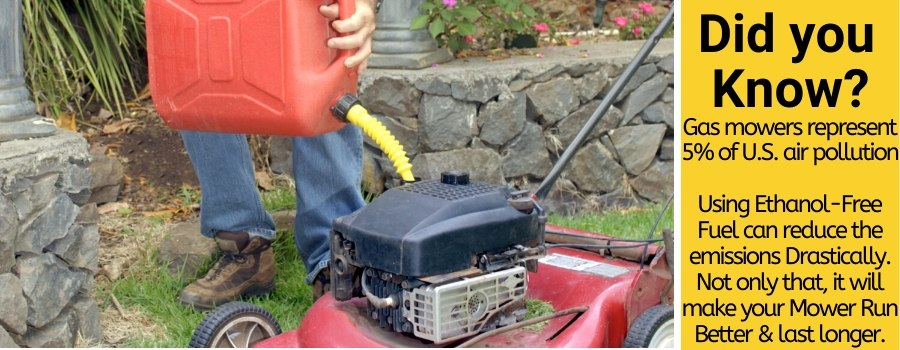 best gas for lawn mowers