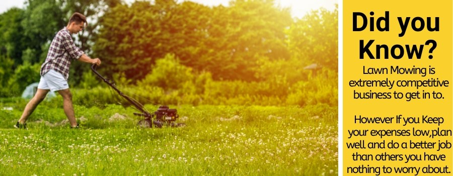 how much to charge for lawn mowing jobs