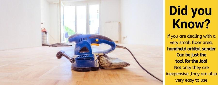 orbital sander for floor
