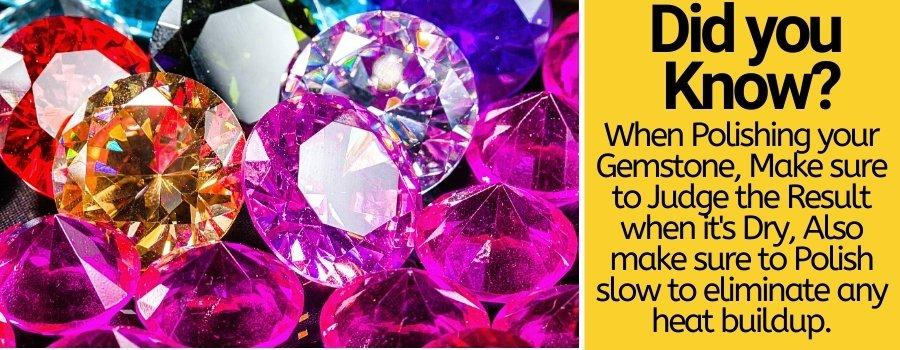 polishing gemstones with dremel
