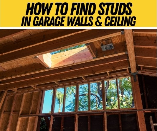 how to find studs in garage walls